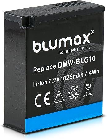 Blumax Akku Für Panasonic Dmw Blg10 Blg10e 1025mah 7 2v Elektronik