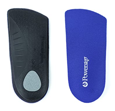 9db48af5ba Amazon.com: Powerstep SlimTech 3/4 Length Orthopedic Foot Insoles ...