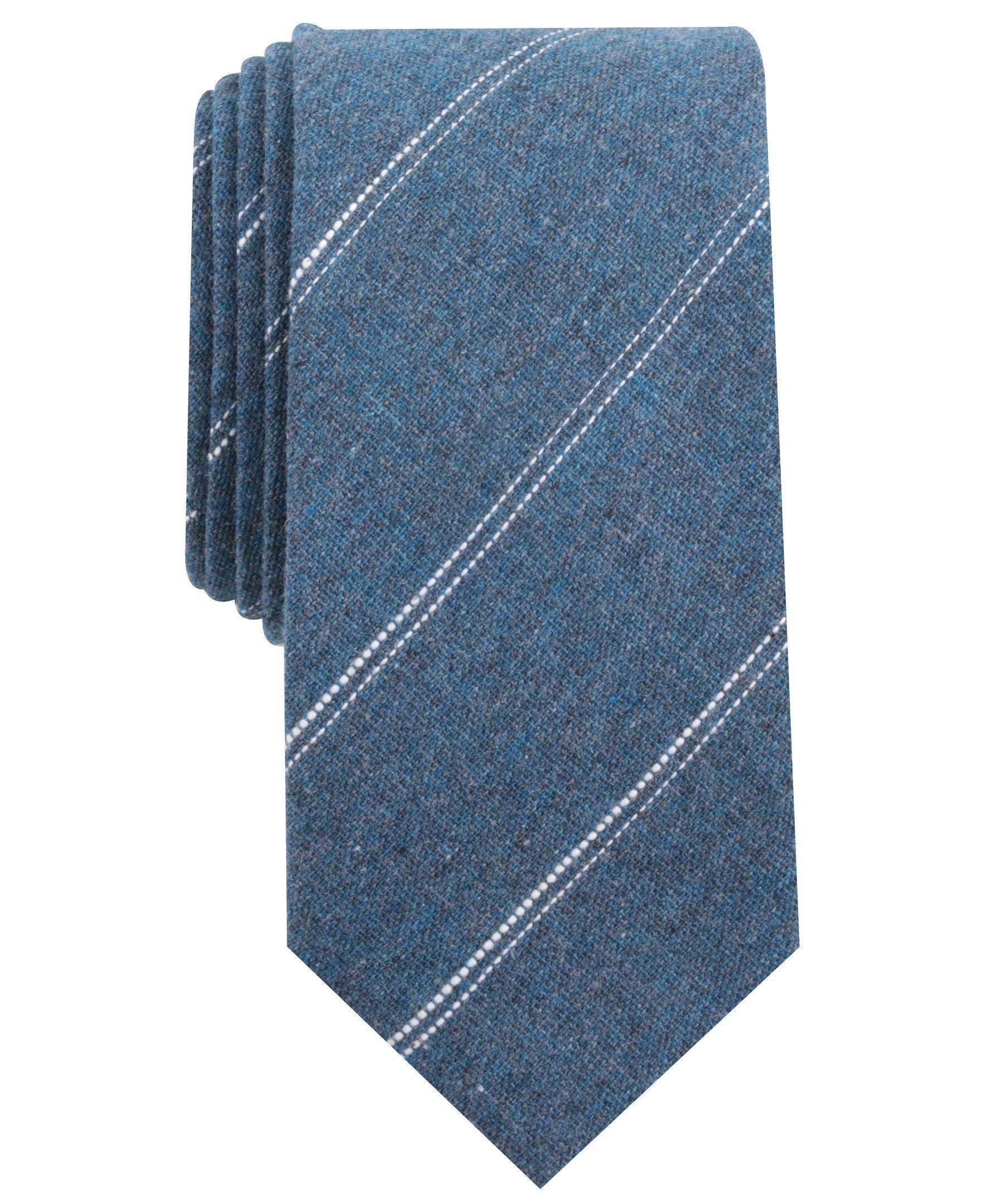 Original Penguin Men's Florida Stripe Tie, Blue, One Size