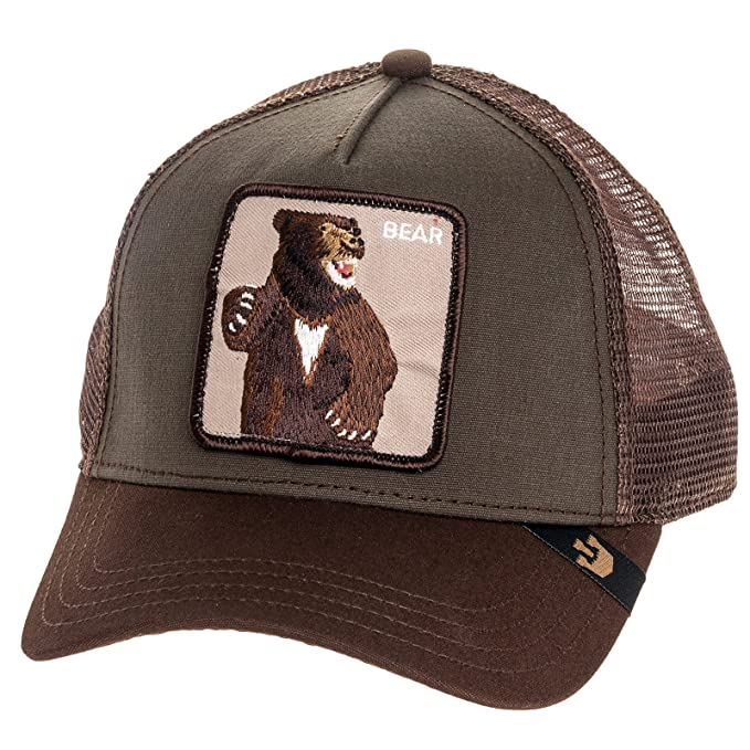 Image Unavailable. Image not available for. Color  Goorin Bros Mens Lone  Star Bear Patch Trucker Cap ... 685c23880a0d