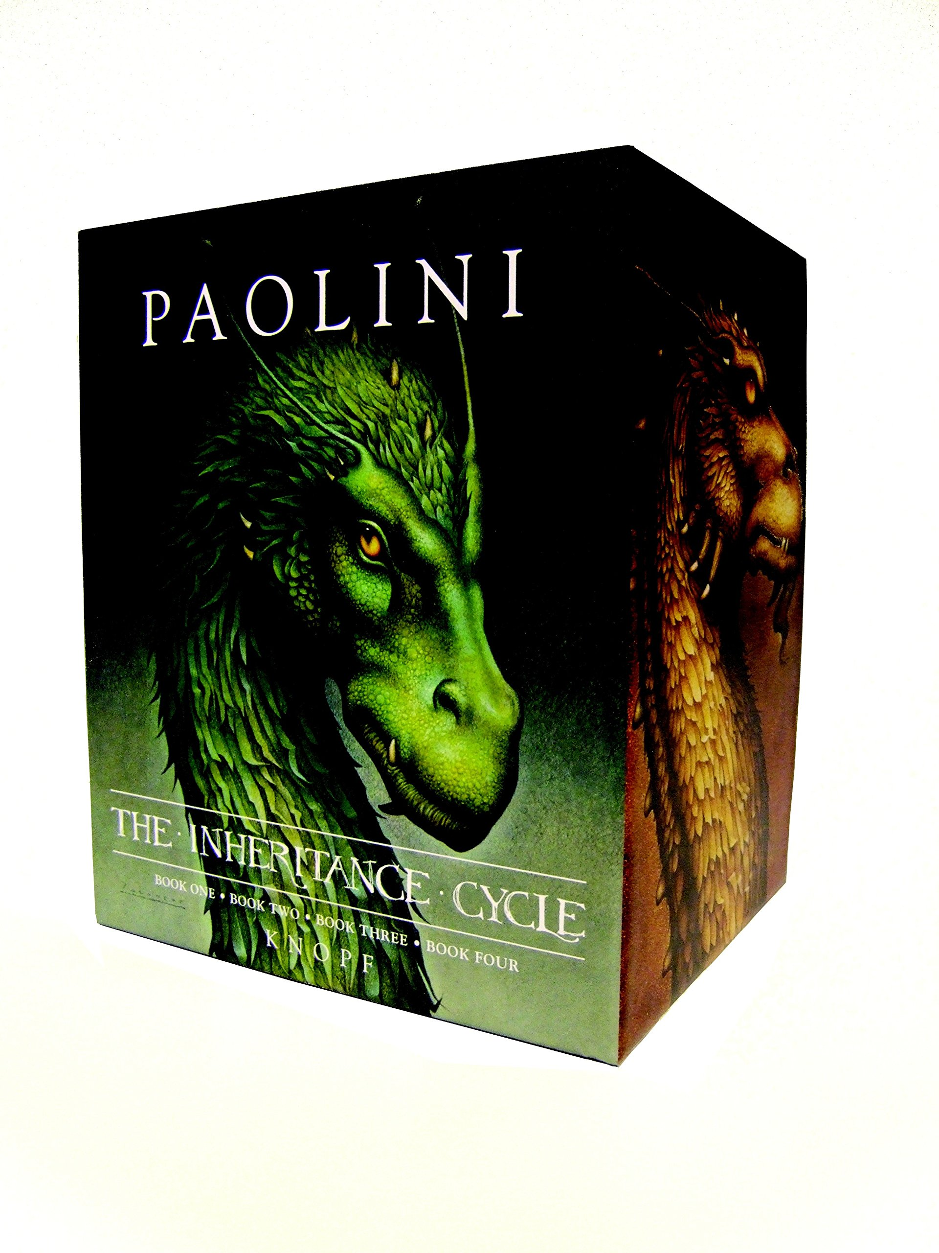 Inheritance Cycle 4-Book Hard Cover Boxed Set (Eragon, Eldest, Brisingr, Inheritance) (The Inheritance Cycle) by Knopf Books for Young Readers