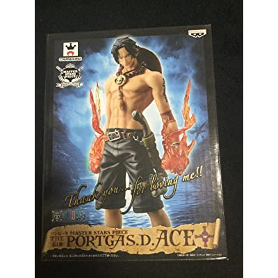 Banpresto One Piece 10.25-Inch Port Gas D Ace Master Stars Piece Figure: Toys & Games