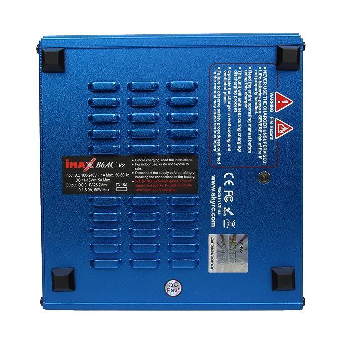 Amazon.com: Cargador/descargador de batería de litio ...