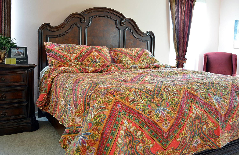 Amazon.com: Tache 3 Piece Hanging Gardens Bedspread Set, California ...