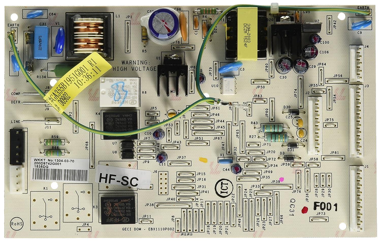 WR55X10832 GE Refrigerator Board Asm Main Control