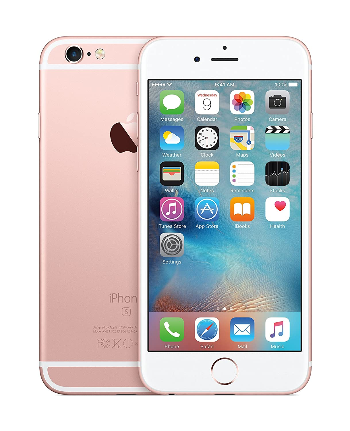 Apple Iphone 6s Rose Gold 64gb Amazon In Electronics