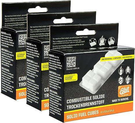 Amazon.com   Esbit 1300-Degree Smokeless Solid Fuel Tablets for ... 4846d27bdf9