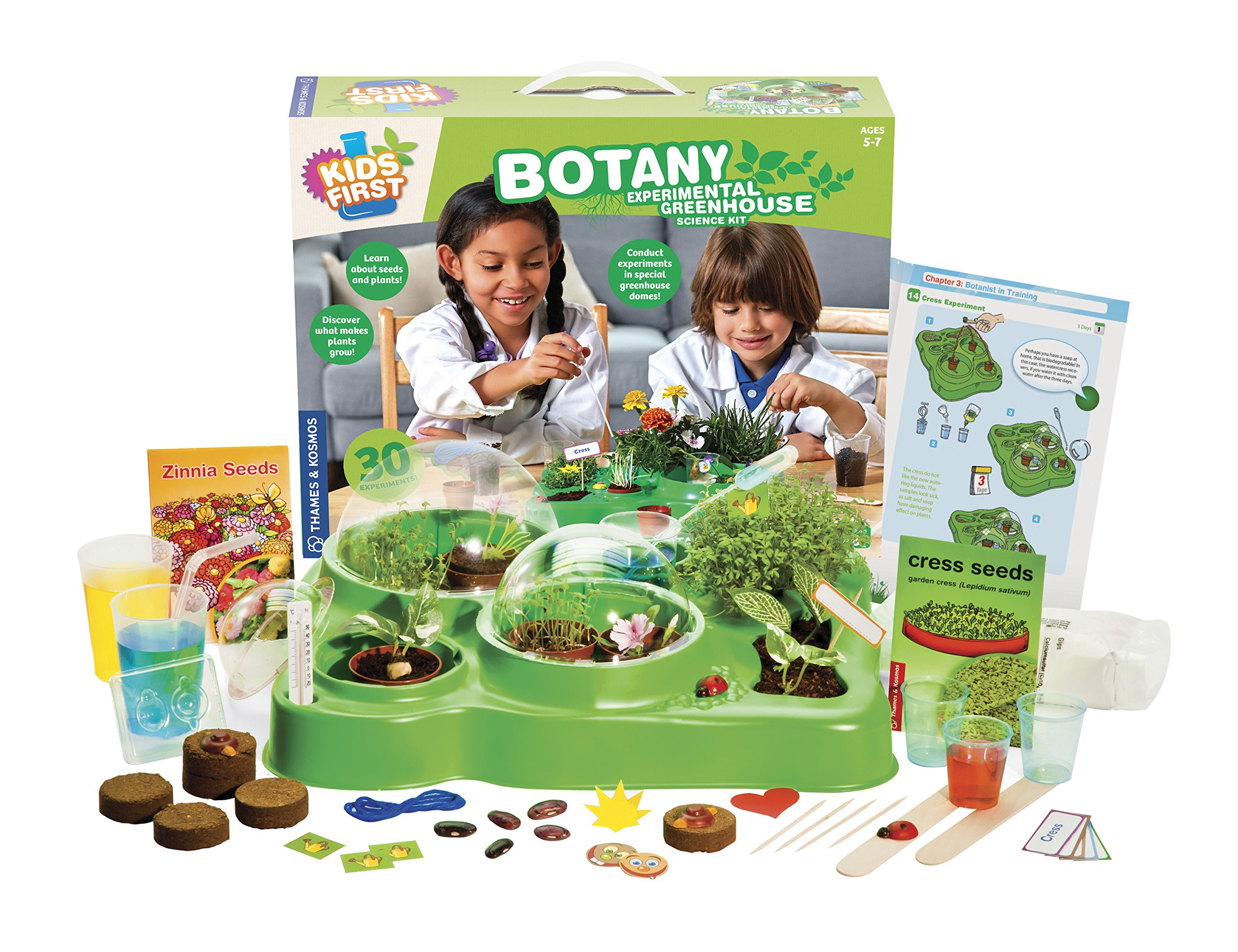 Kids First Botany - Experimental Greenhouse Kit by Kids First (Image #2)