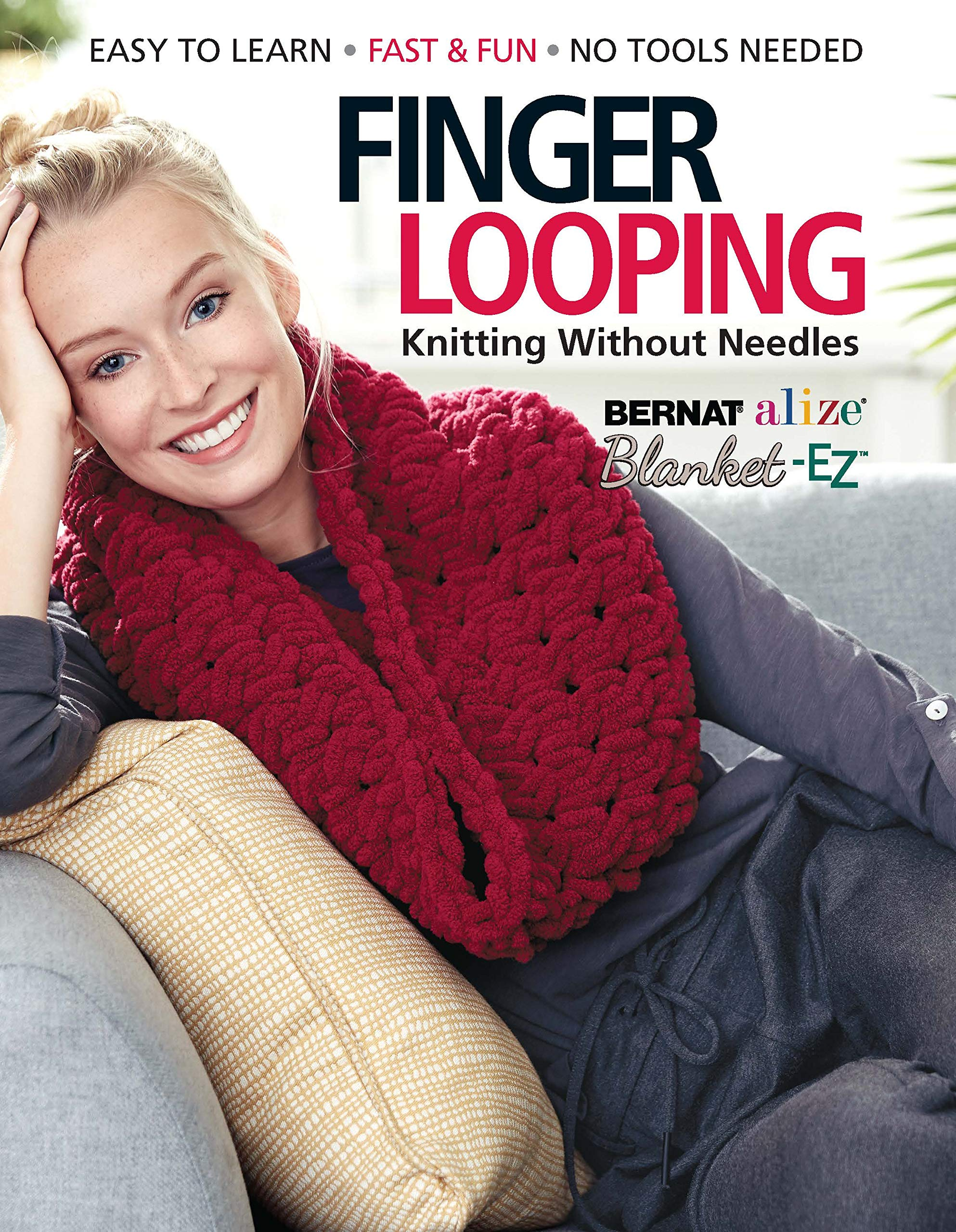 Finger Looping Knitting Without Needles product image
