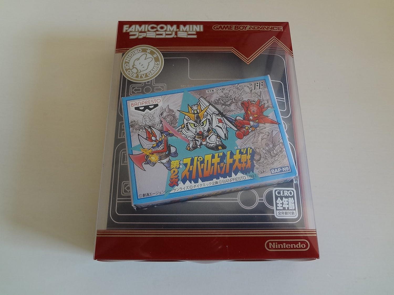 ゲームボーイアドバンス ファミコンミニ 第2次スーパーロボット大戦 / Dai 2-Ji Super Robot Taisen Famicom Mini Game Boy Advance B010DNHR36
