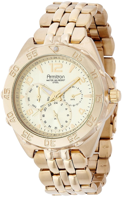 Armitron Men s 20 4664 Multifunction Stainless Steel Bracelet Watch