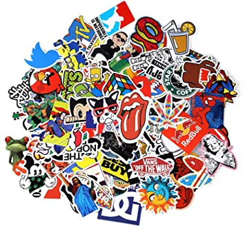 Sticker Pack 100-Pcs,Neuleben Sticker Decals Vinyls for Laptop,Kids,Cars