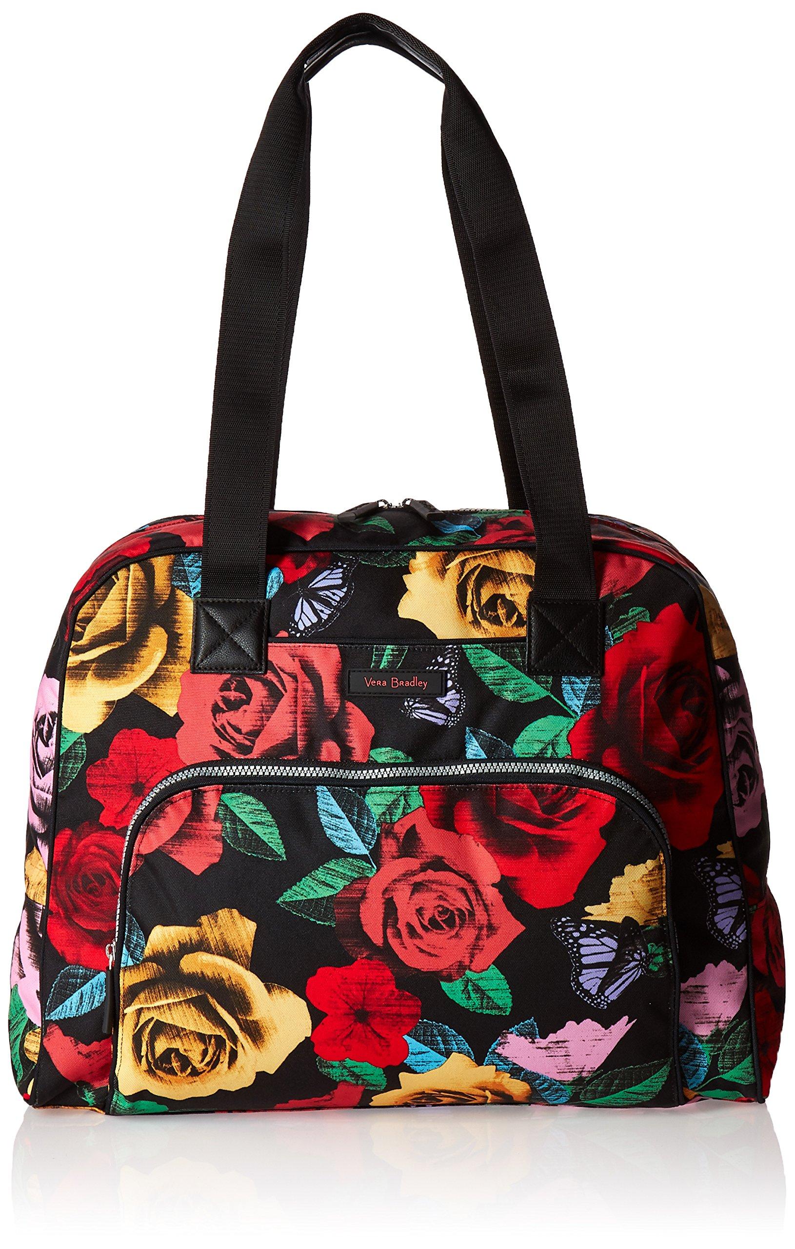 Vera Bradley Women's Go Anywhere Carry-on, Havana Rose