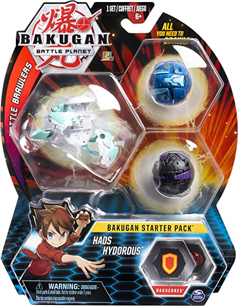 Bakugan- Starter Pack Modelo 3, 6055439, Multicolor: Amazon.es ...