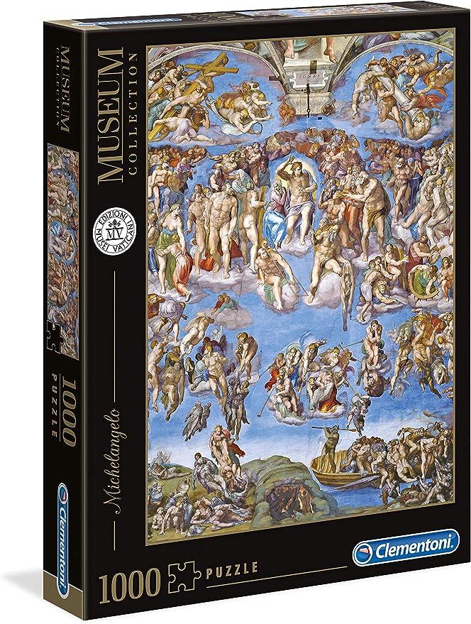 Clementoni- Puzzle 1000 Piezas Museos Michelangelo: Juicio ...