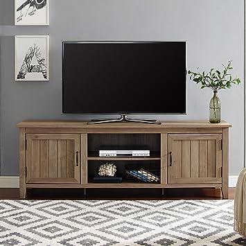 best service 48411 1c936 WE Furniture AZ70CS2DRO TV Stand, 70