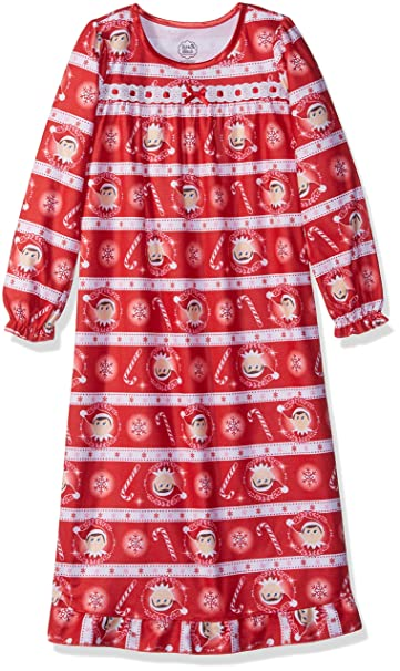 Amazon Com The Elf On The Shelf Girls Nightgown Clothing