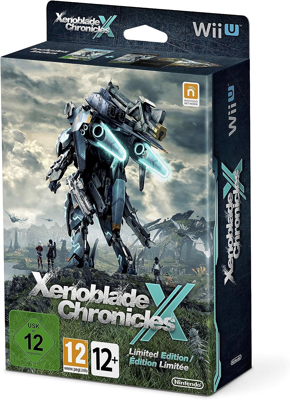 Xenoblade Chronicles X + Libro Ilustraciones + Mapa + Caja Metálica - Edición Limitada