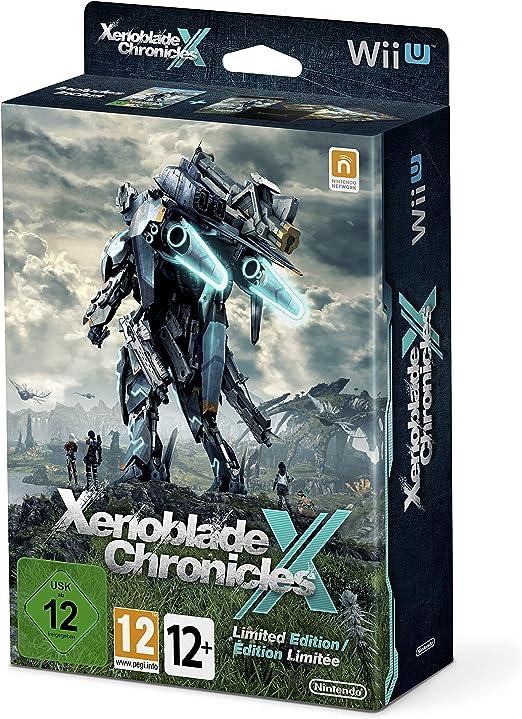 Xenoblade Chronicles X + Libro Ilustraciones + Mapa + Caja