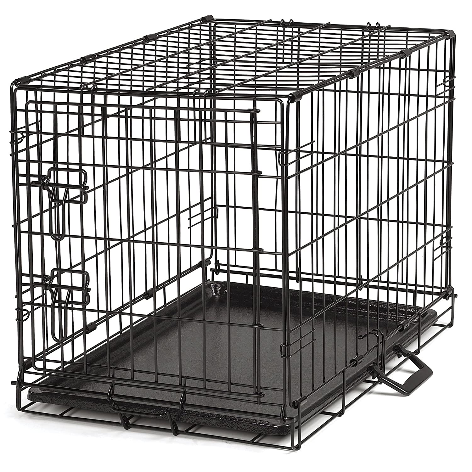 Amazon.com : ProSelect Easy Dog Crates for Dogs and Pets - Black; Small,  Medium, Medium-Large, Large, Extra Large : Pet Crates : Pet Supplies