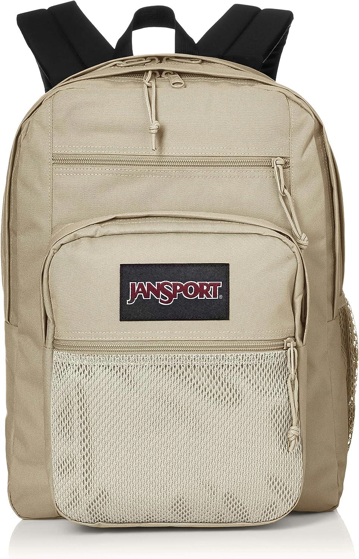 Jansport Big Campus Backpack - Lightweight 15-inch Laptop Bag, Oyster