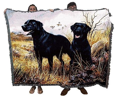 Pure Country Manta Labrador Negra: Amazon.es: Productos para ...