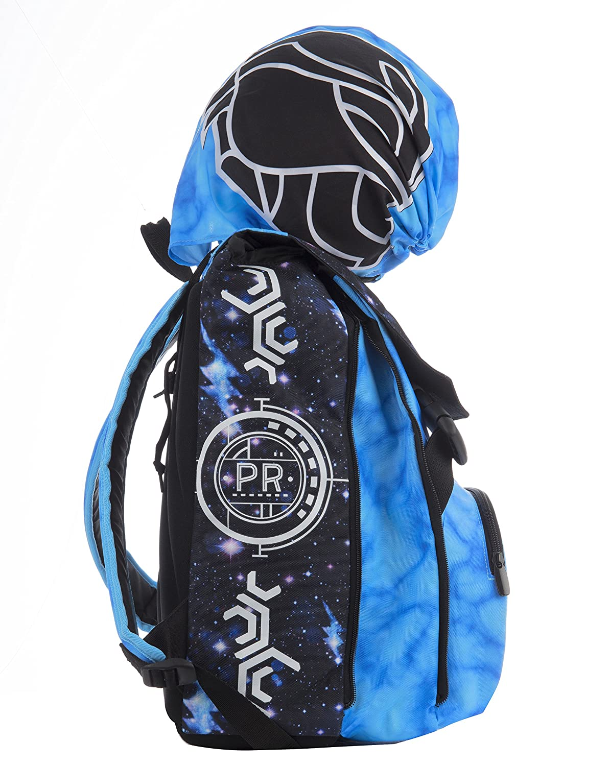 Mochila Extensible - Power Rangers - Cartera Escolar Azul Negro 31Lt: Amazon.es: Equipaje