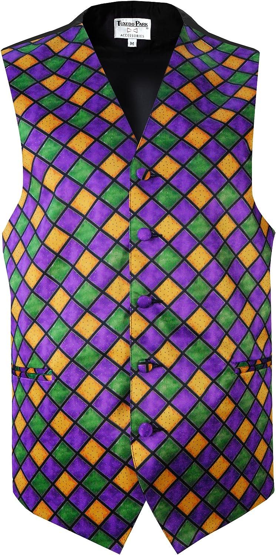 Mardi Gras Diamond Vest