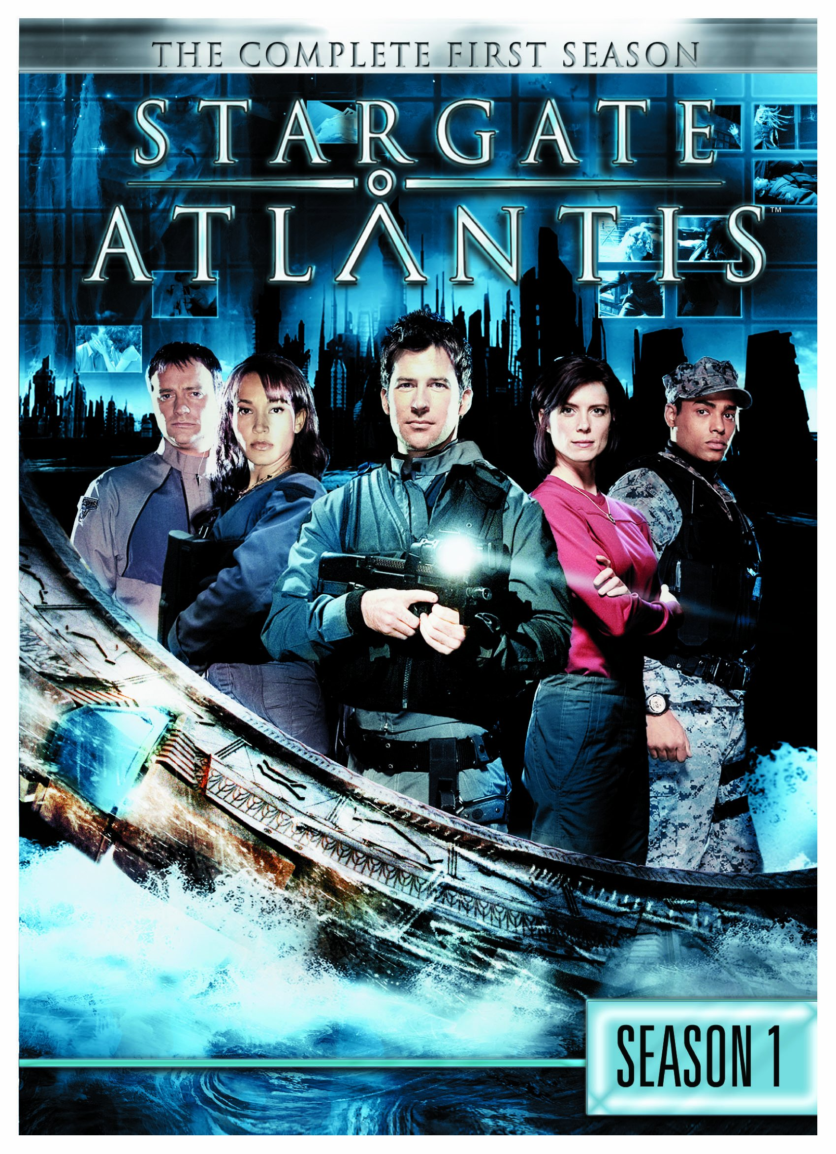 DVD : Stargate Atlantis: Season 1 (, Dubbed, Dolby, AC-3, Repackaged)