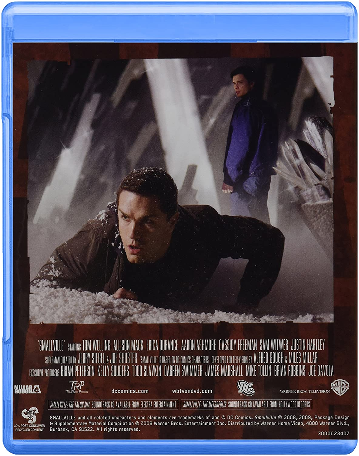 Smallville: Complete Eighth Season Alemania Blu-ray: Amazon.es: Tom Welling, Alfred Gough and Mile E, Alfred Gough, Miles Millar: Cine y Series TV