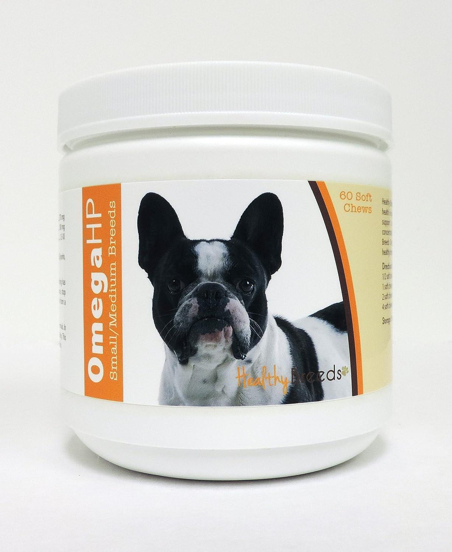 Healthy Breeds Omega HP Fish Oil Skin Coat Supplement Soft Chews – Over 200 Breeds – Vet Recommended Formula Based on Breed – Helps Reduce Shedding
