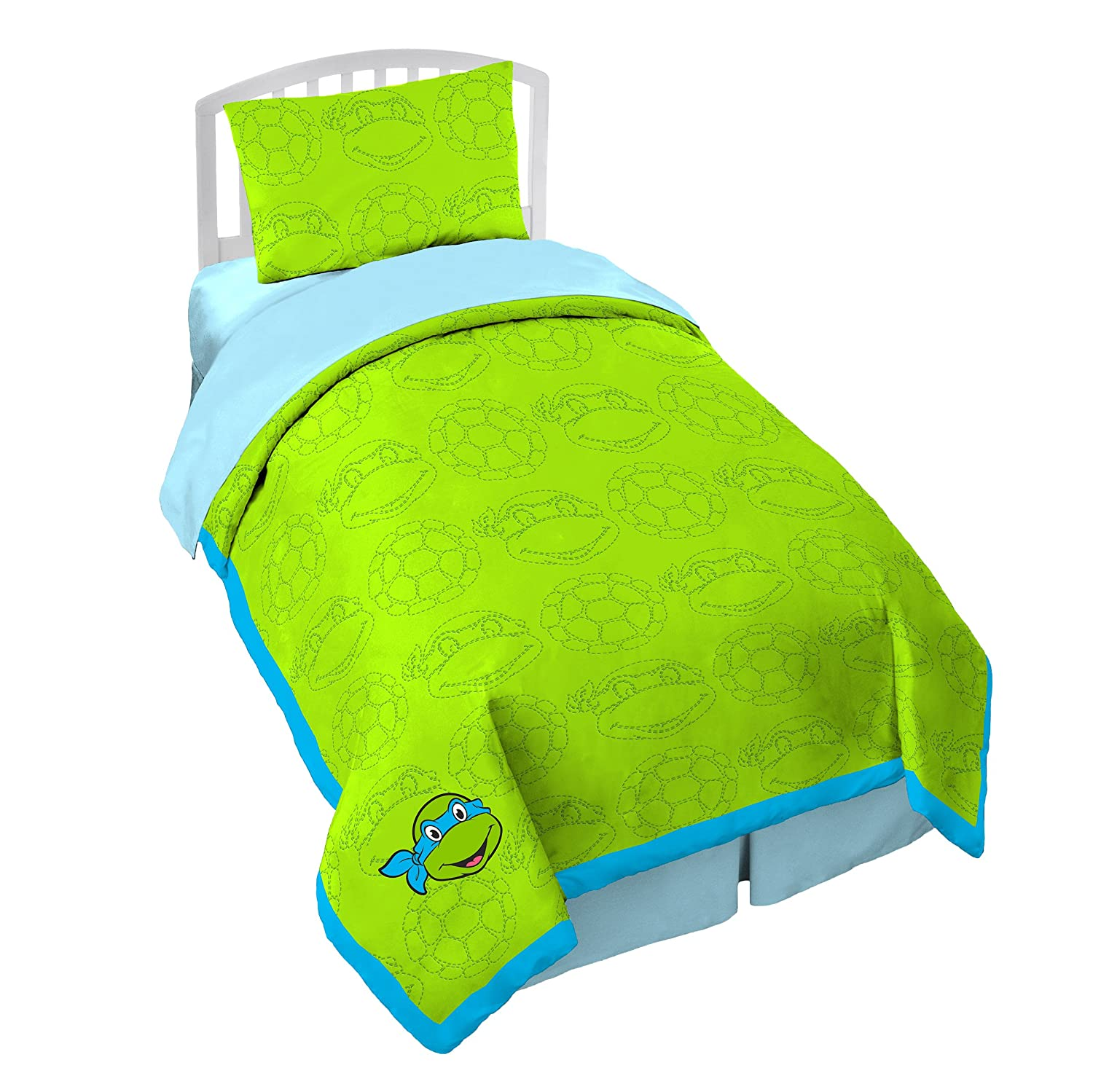 Nickelodeon Teenage Mutant Ninja Turtles Light Warmth Twin Quilt Set Jay Franco and Sons Inc. JF25322T