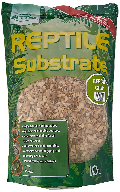 Pettex Reptile taux subst Litière/Matériau de nidification pour Reptiles Pettex Limited