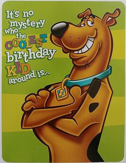 Amazon Scooby Doo Happy Birthday Greeting Card Its No