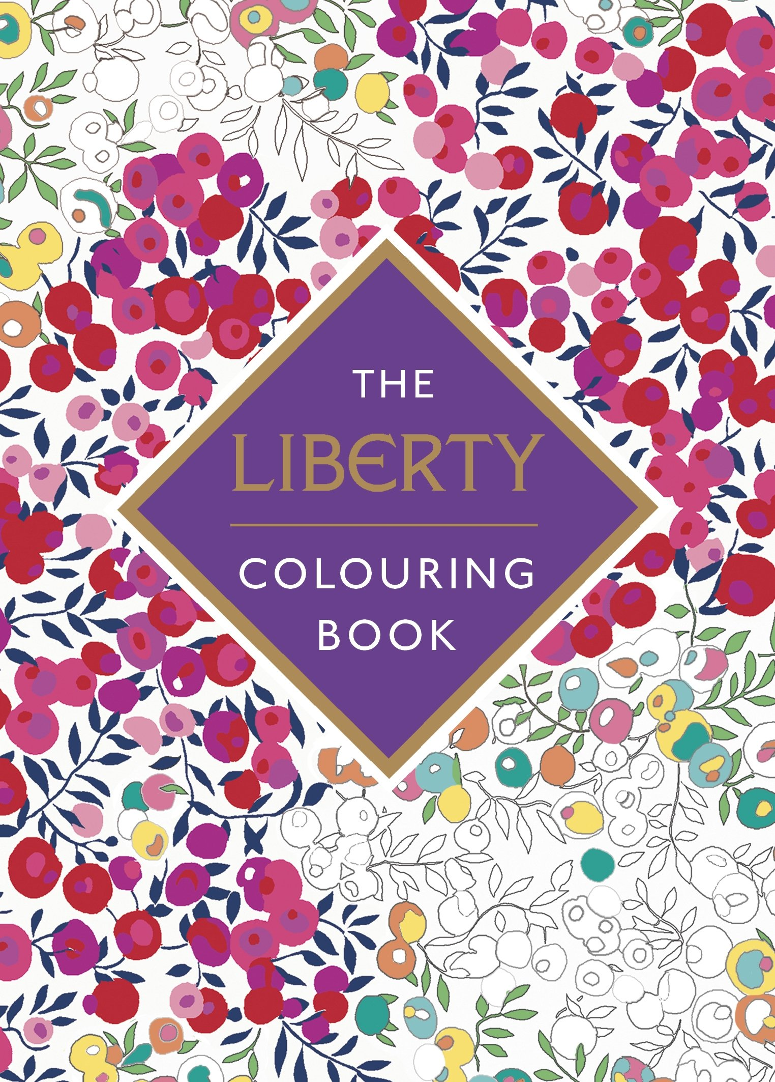the liberty colouring book amazoncouk liberty 9780241249987 books