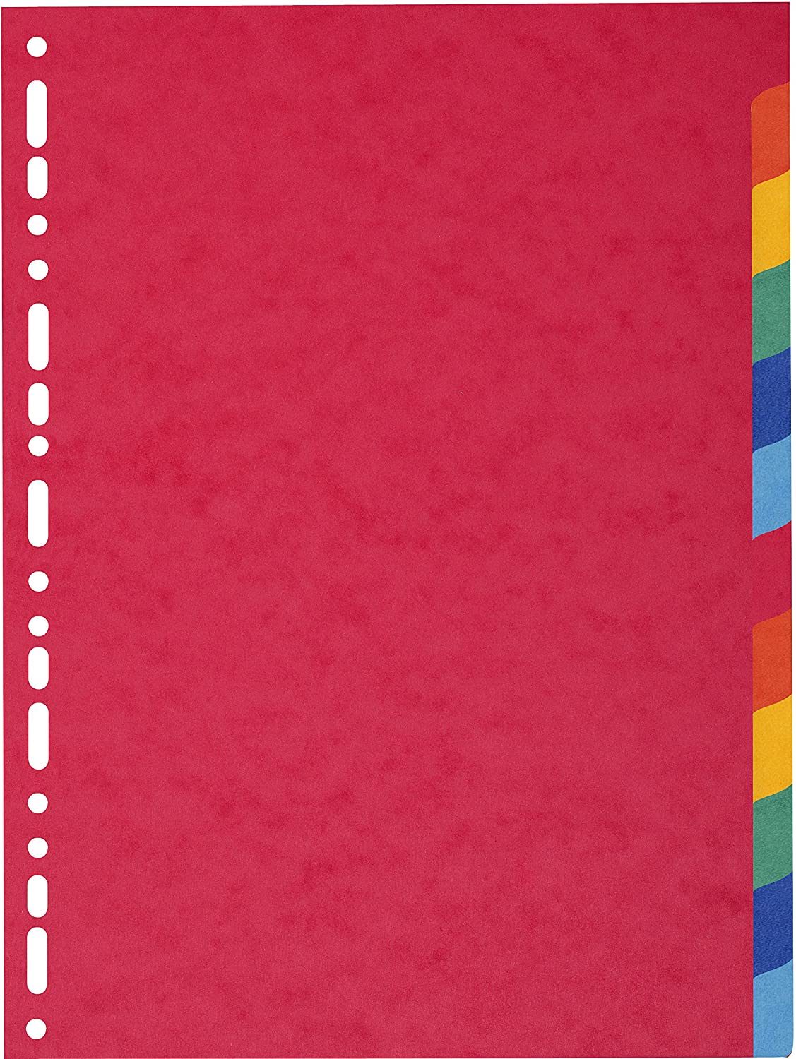 Exacompta Forever 148 x 210 mm Recycled Dividers, 180 gsm, 4 Part, Multi-Colour Reg. 804E