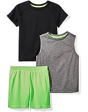 06398076105 Amazon Brand - Spotted Zebra Boys  Active T-Shirt