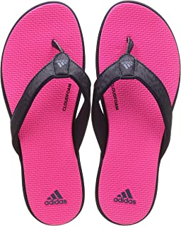 f1d7d4ac1fd4 Adidas Women s Cloudfoam One Y W Grethr Msilve Greone House Slippers ...