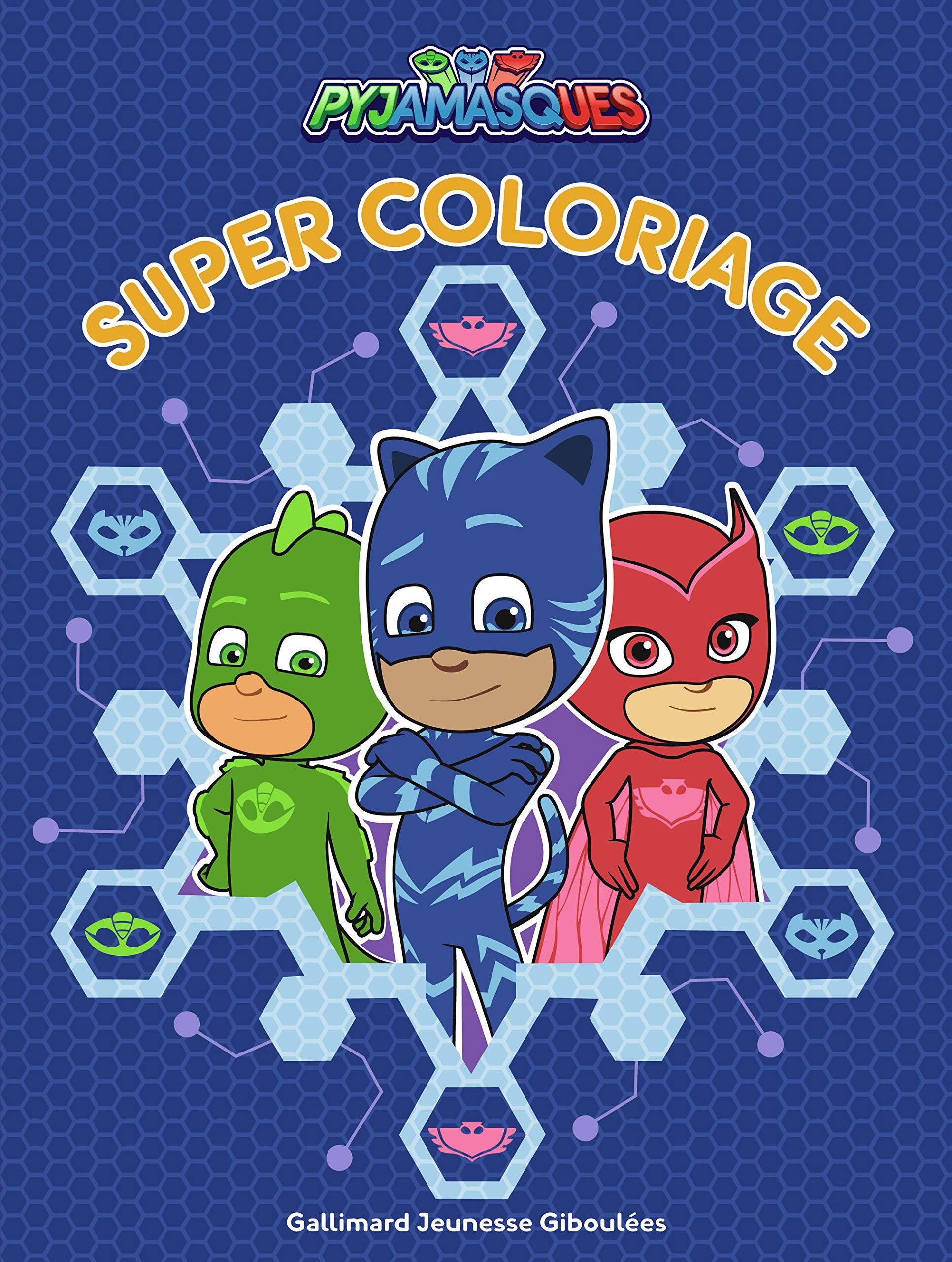 Super Coloriage Pyjamasques Les Pyjamasques Giboulees Series Tv French Edition Romuald 9782075129343 Amazon Com Books