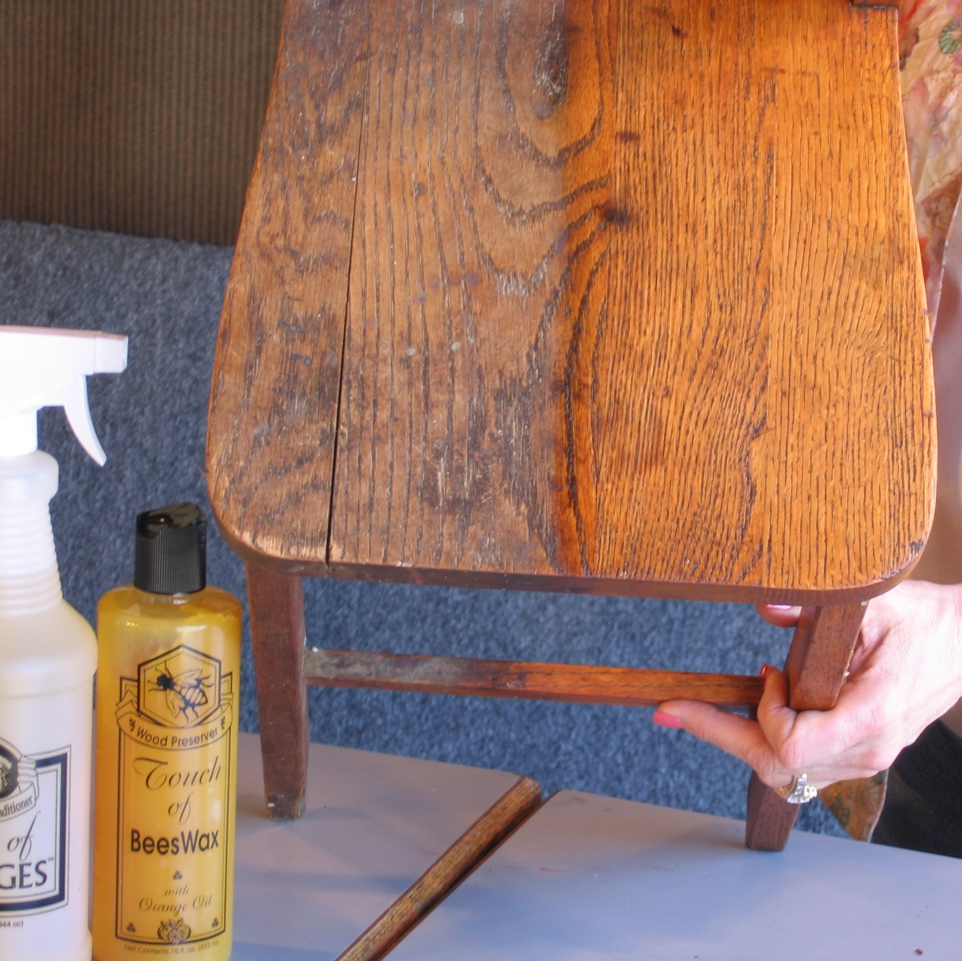 Complete Wood Restoration Kit, Wood Floor Restorer, Orange Oil Cleaner 32 oz, Beeswax Furniture Polish 16 oz, Restore A Finish 16 oz, Cover Scratches and Blemishes (Walnut) by Touch Of Oranges (Image #1)