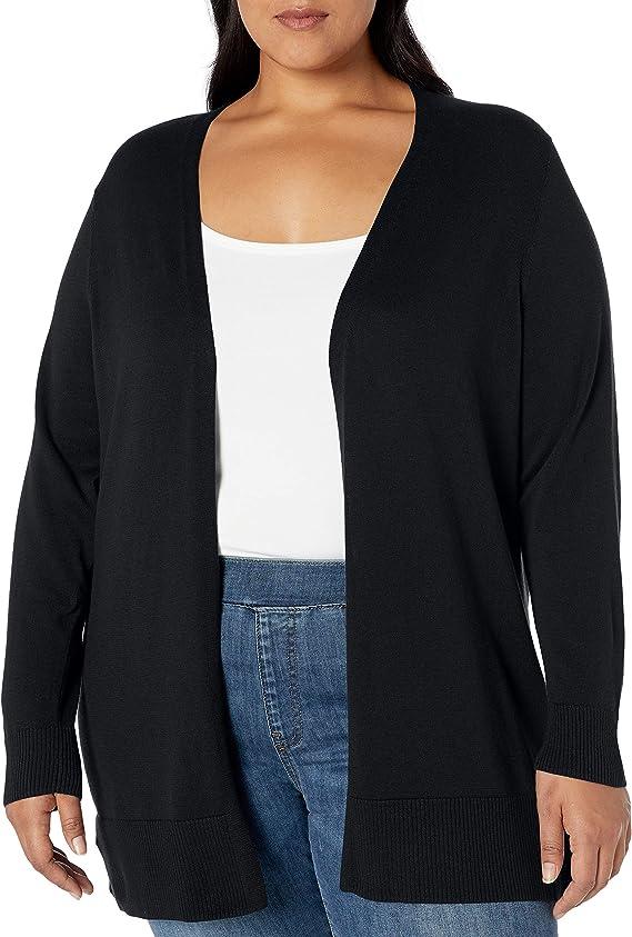 Essentials Lightweight Longer Length Cardigan Sweater Cardigan Donna