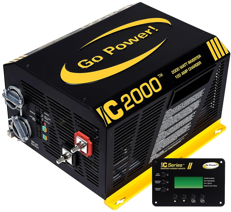 Go Power! GP-IC2000-12-PKG Pure Sine Wave Inverter