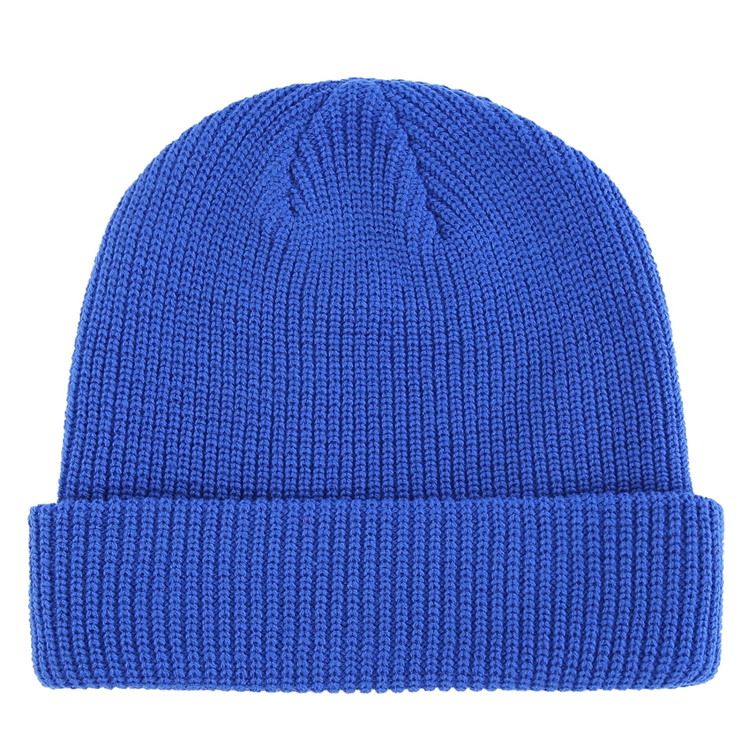 Connectyle Classic Men's Warm Winter Hats Acrylic Knit Cuff Beanie Cap Daily Beanie Hat 55 60cm F084