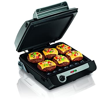 Hamilton Beach 25601 Electric Multi Grill, Black