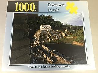 1000 Pc Rommex Puzzle: 'Piramide De Palenque En Chiapas Mexico' No. 1906010