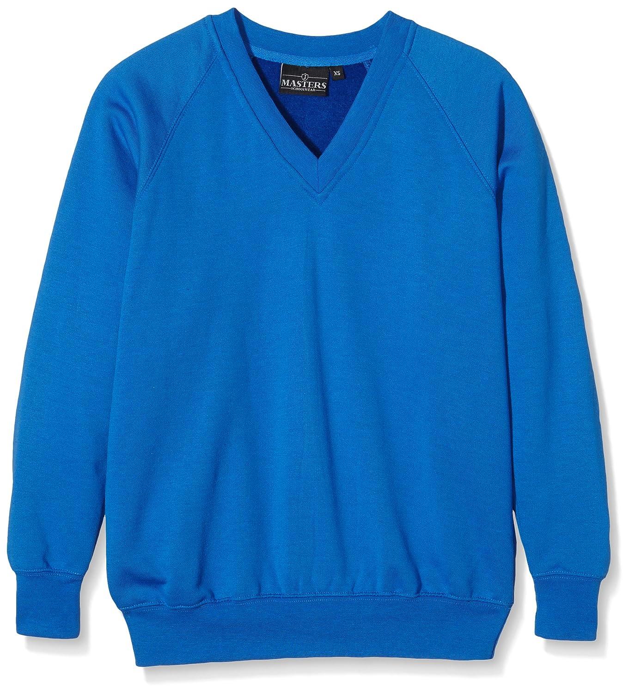J Masters Schoolwear Jungen Sweatshirt Unisex V Neck School SW1602