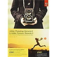 Adobe Photoshop Elements 11 & Premiere Elements 11 Student and Teacher, Inglese, Windows & MAC