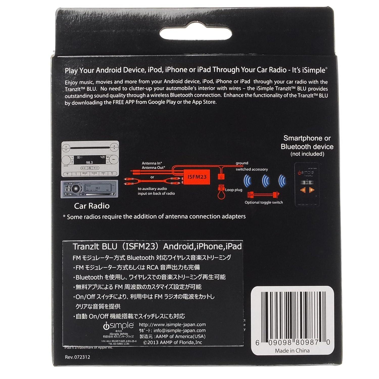 iSimple tranzit Universal 12,6 aktiviert FM Transmitter KFZ-Kit ...