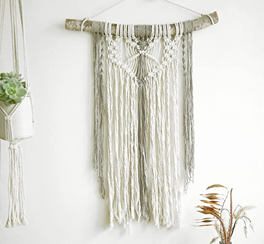 Amazon.com: Boho Wall tapestry, Macrame Wall Hanging, Modern Macrame ...