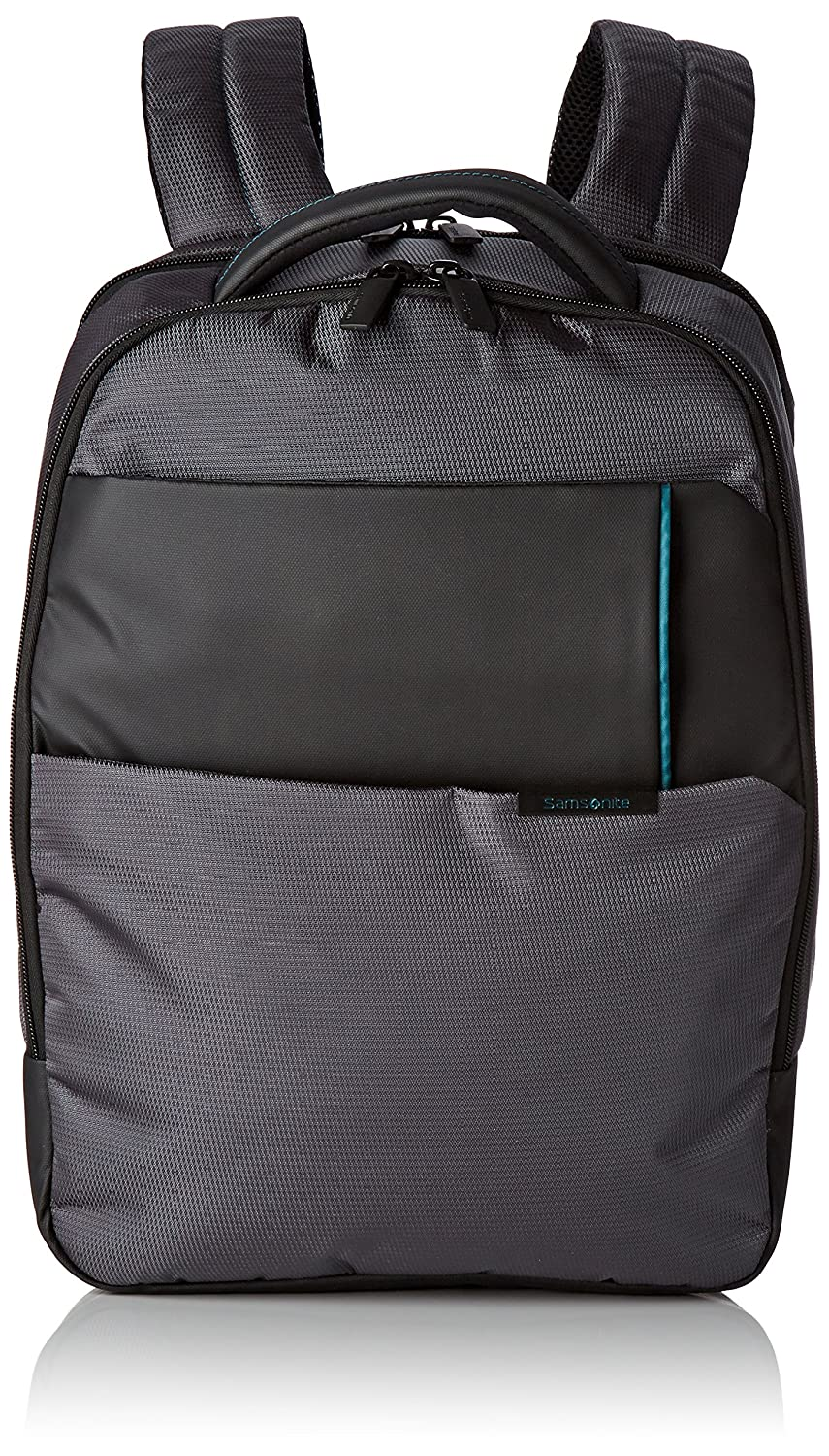 Samsonite Qibyte Laptop Backpack  Mochila Tipo Casual  Litros Color Antracita